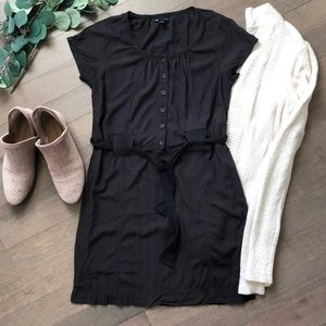 Gap brown shirt dress